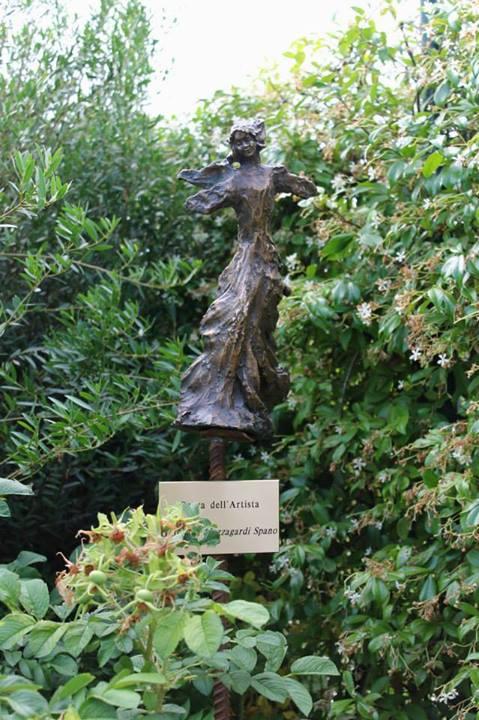 Ecco la nuova scultura al giardino degli angeli il giardino degli angeli - Il giardino degli angeli ...